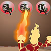 Play Heatblast Math Addition